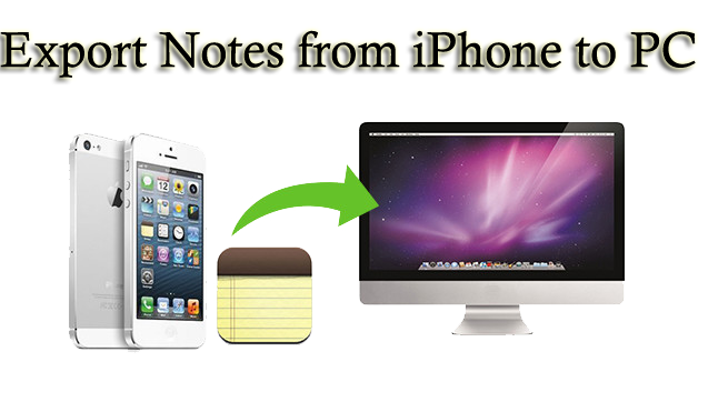 Methods to Export Notes from iPhone to PC/Mac