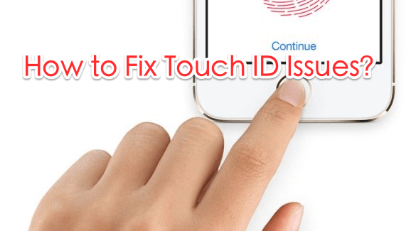 fix iPhone Touch ID not working