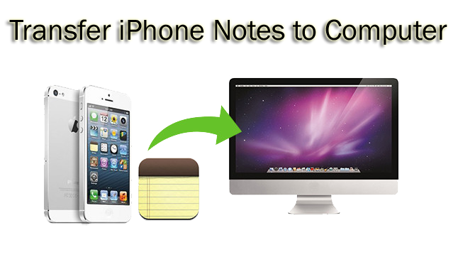 how to download notes from iphone to computer