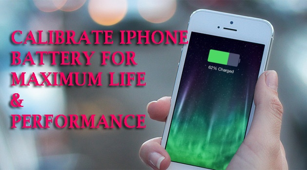iphone battery calibrate