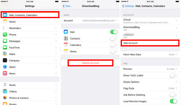 how to fix  u201ccannot get mail  ipad  ipod touch