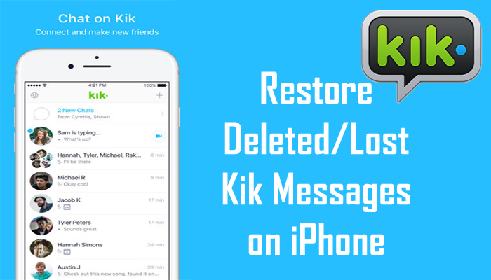 kakaotalk chat recover