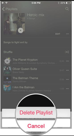Recover Deleted Playlists From iPhone