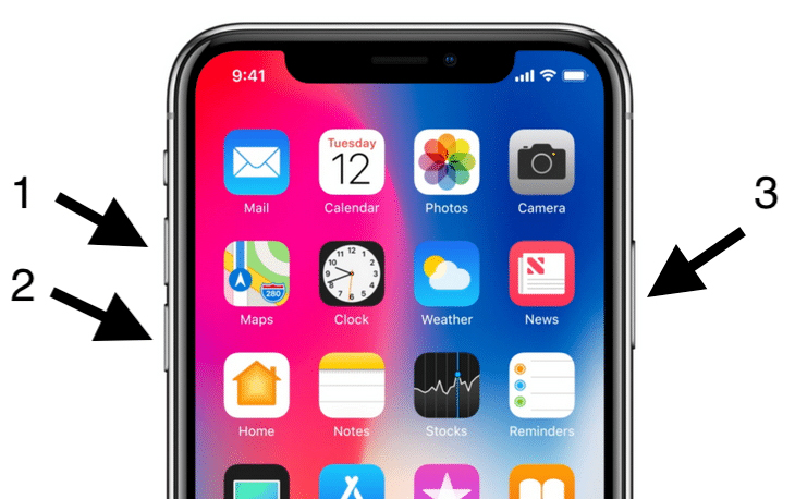"Solved iPhone X stuck at ""Attempting Data Recovery"" screen"