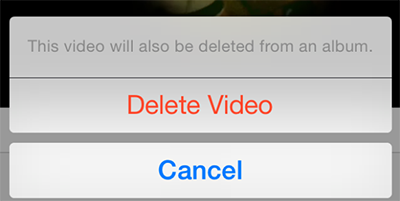 How To Delete Videos From iPhone