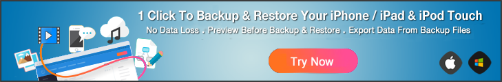 Try iOS Backup & Restore Now
