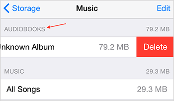 Delete Multiple Audiobooks from iPhone