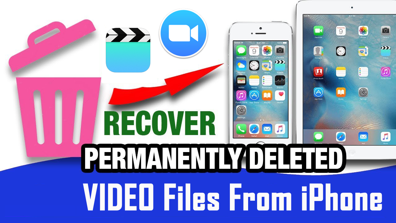 Restore Permanently Deleted iPhone Videos