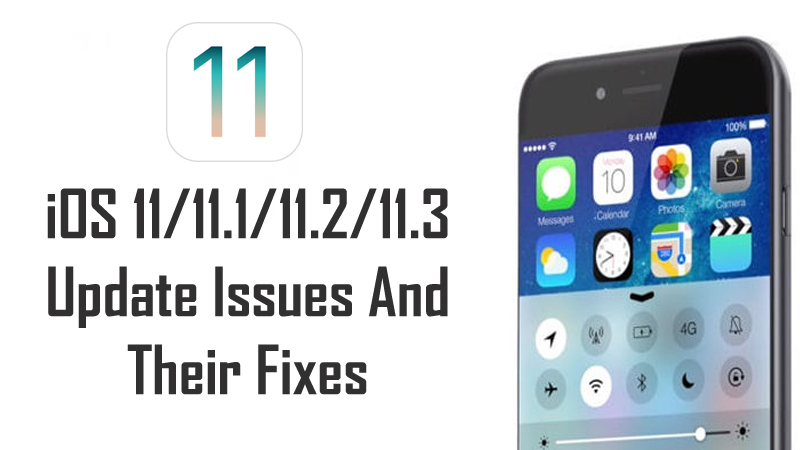 Troubleshoot iOS 11 Issues and Problems
