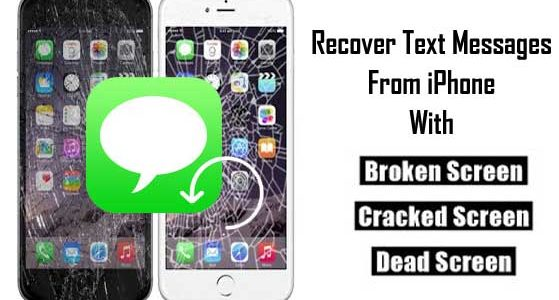 How To Retrieve Text Messages From iPhone With Broken Screen