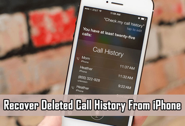 iPhone Call History Recovery