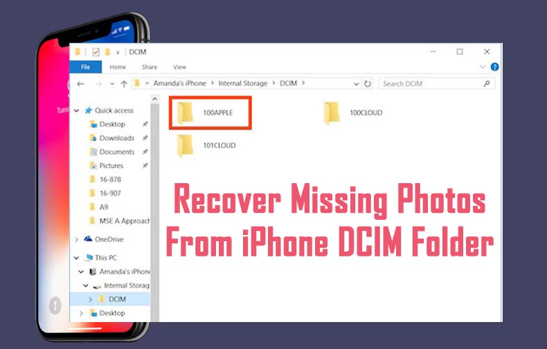 Recover Photos From iPhone DCIM Folder