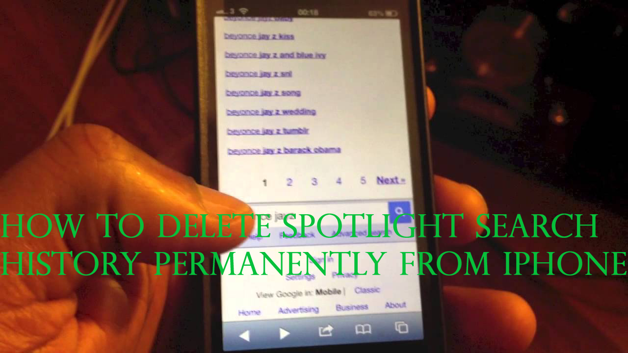 delete iphone search history how to clear spotlight search history permanently from iphone 13959