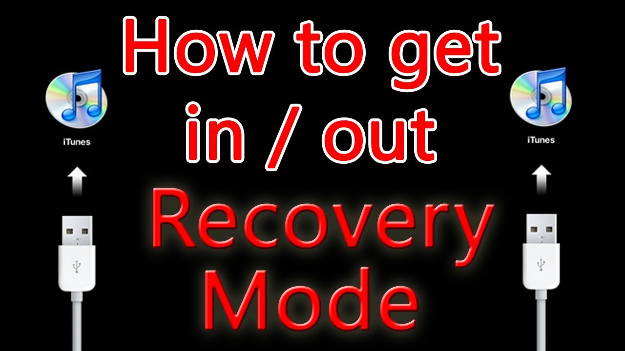 how to put iphone in recovery mode how to put iphone ipod in and out of recovery mode 20194