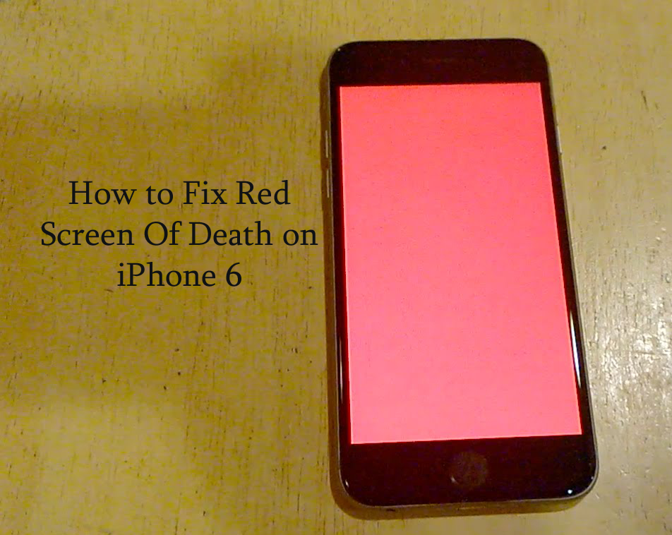 iphone red screen how to fix screen of on iphone 6 on windows mac 7467