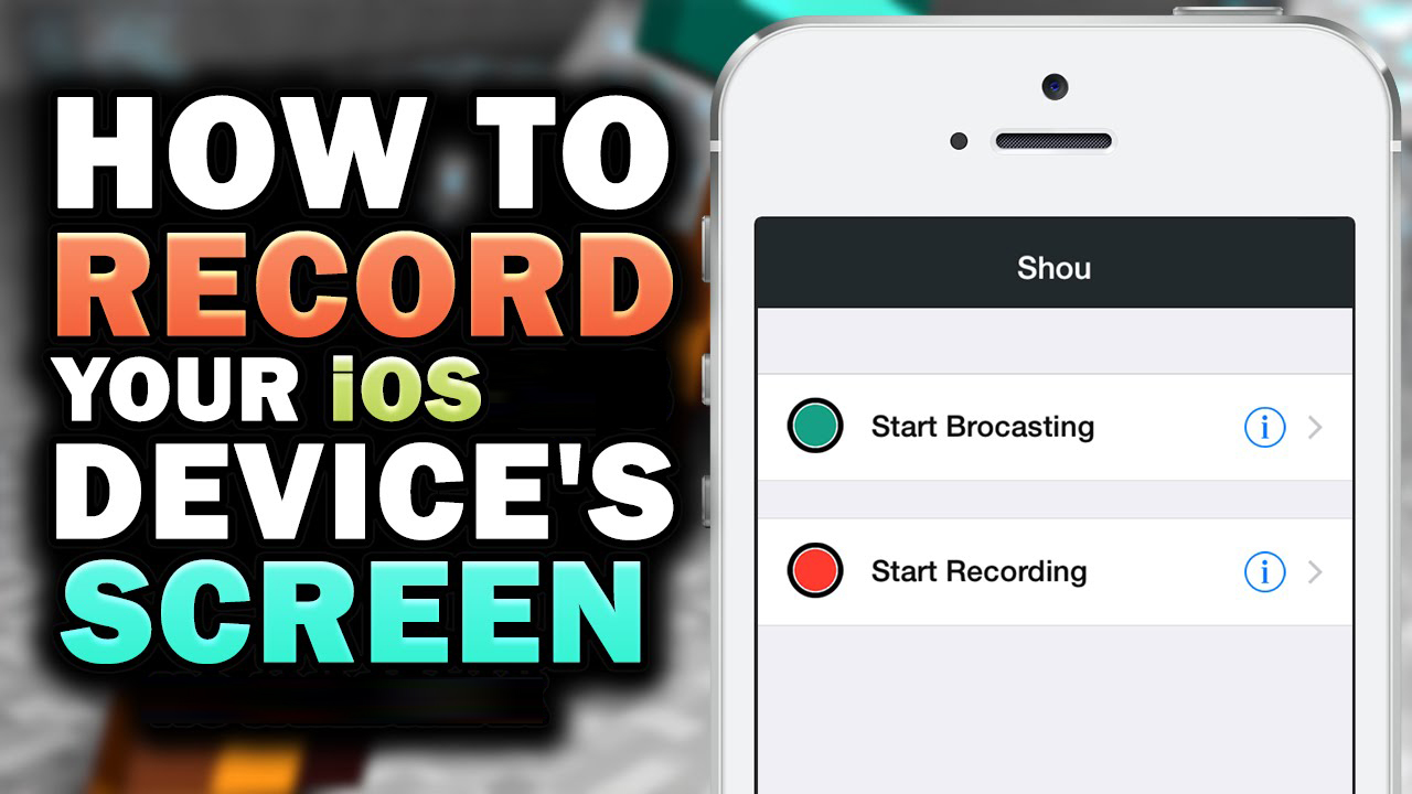 how to record iphone screen free record iphone screen with ios screen recorder in easy way 7570