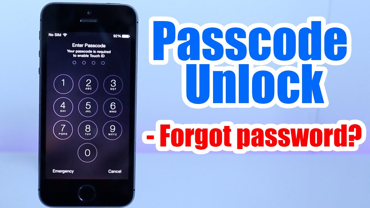 how to unlock iphone when you forget password how to unlock iphone ipod passcode without restore 21171